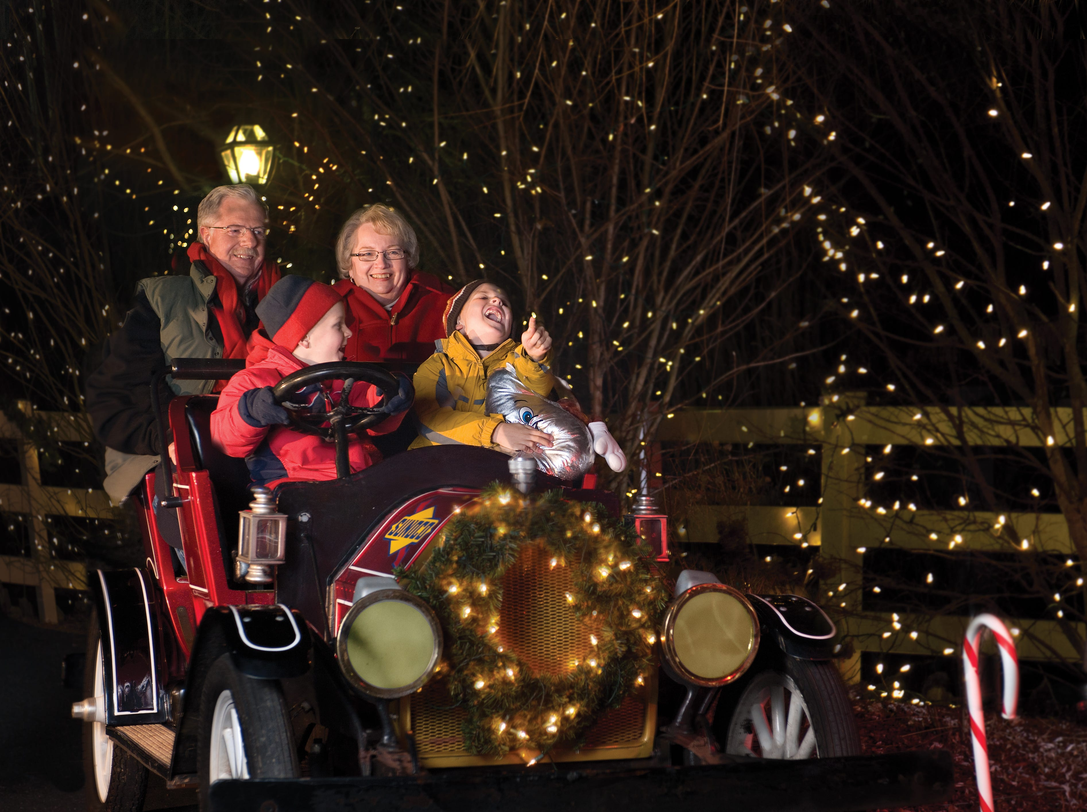 Families have been making holiday memories at Hersheypark Christmas Candylane for 35 years now.