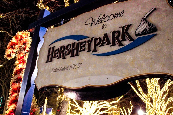 Hersheypark's Christmas Candylane is officially open now through January 1.