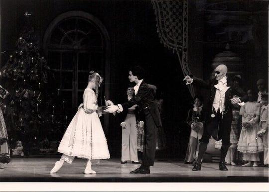 """Ikolo Griffin at age 12 as the Nutcracker Prince in San Francisco Ballet's """"Nutcracker."""""""