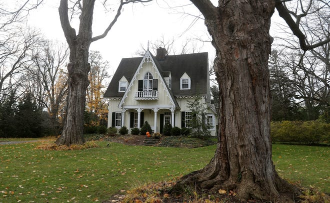 This Gothic home in the village of Pittsford was once the home of Hartwell Carver.