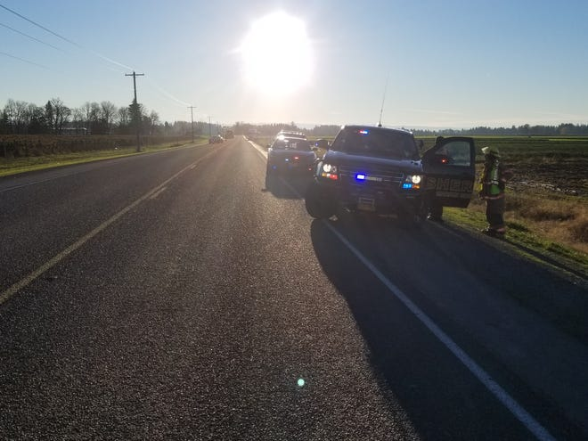 McKay Road is closed at French Prairie Road NE and Highway 219 following a four-vehicle fatal crash.