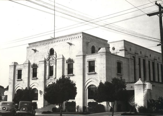 The old Monterey County Jail on West Alisal Street.