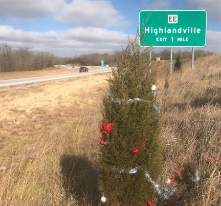 Christmas Tree On 65