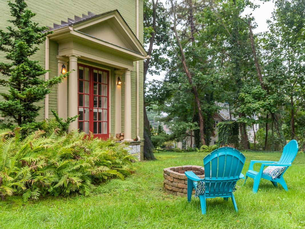 This TJ Collins-designed home at 1310 N. Augusta St. in Staunton is for sale for $475,000. It has four bedrooms and three bathrooms.