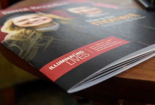 The Illuminating Lives fundraising effort is highlighted in a College of St. Benedict publication.