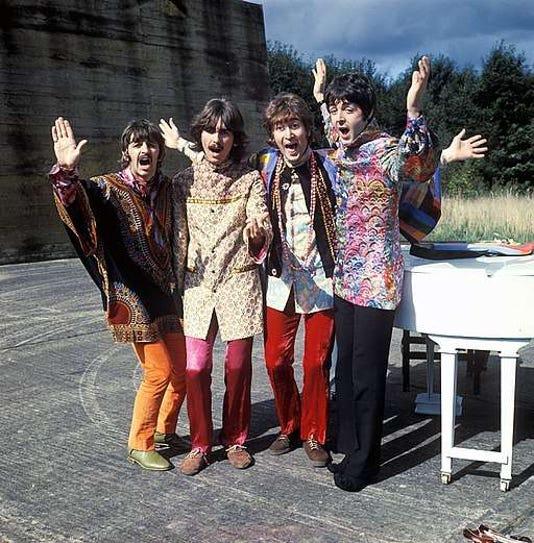 The Beatles Magical Mystery Tour Art