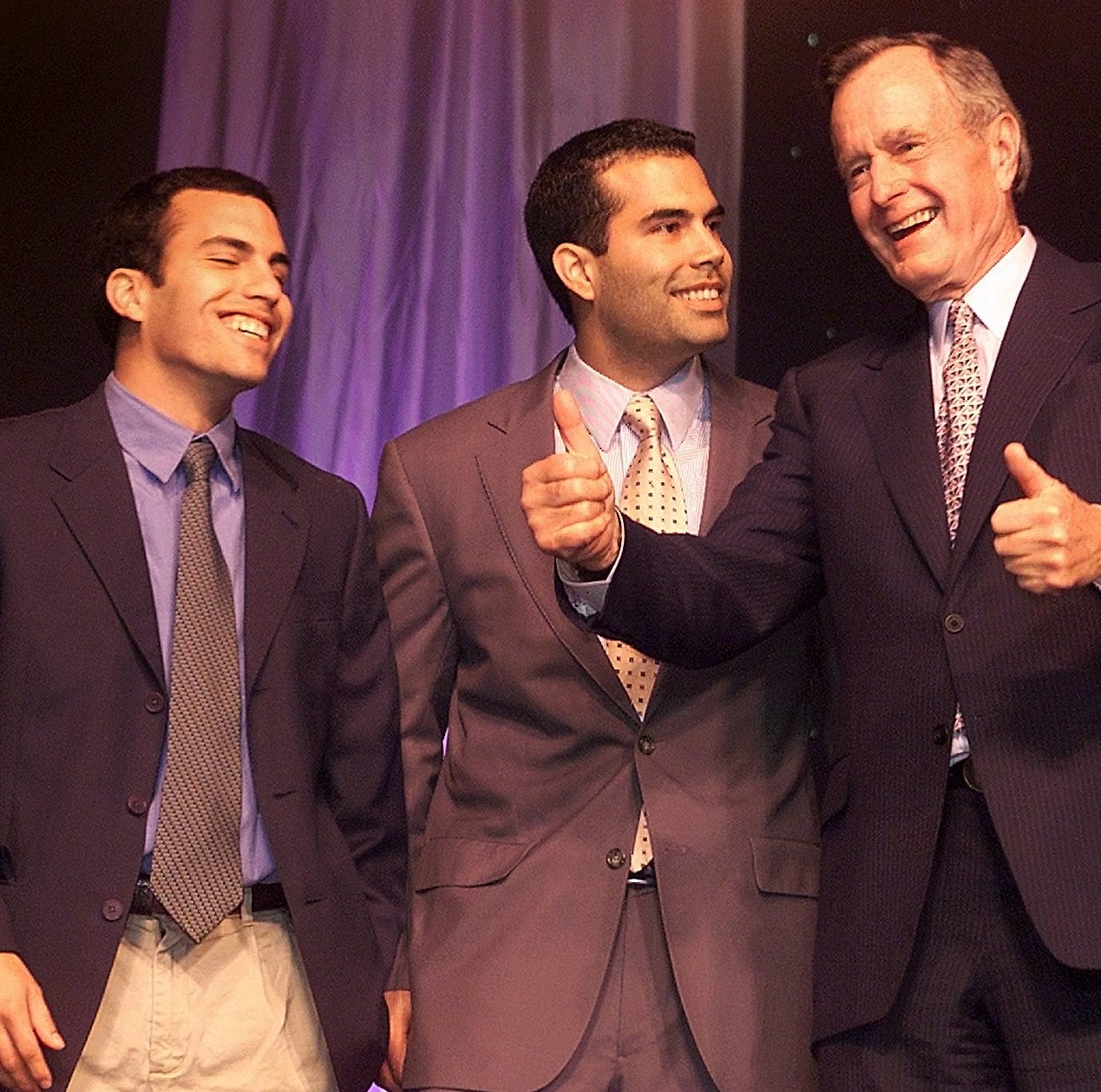 George P. Bush's tribute to his grandfather: The man I simply called 'Gampy'