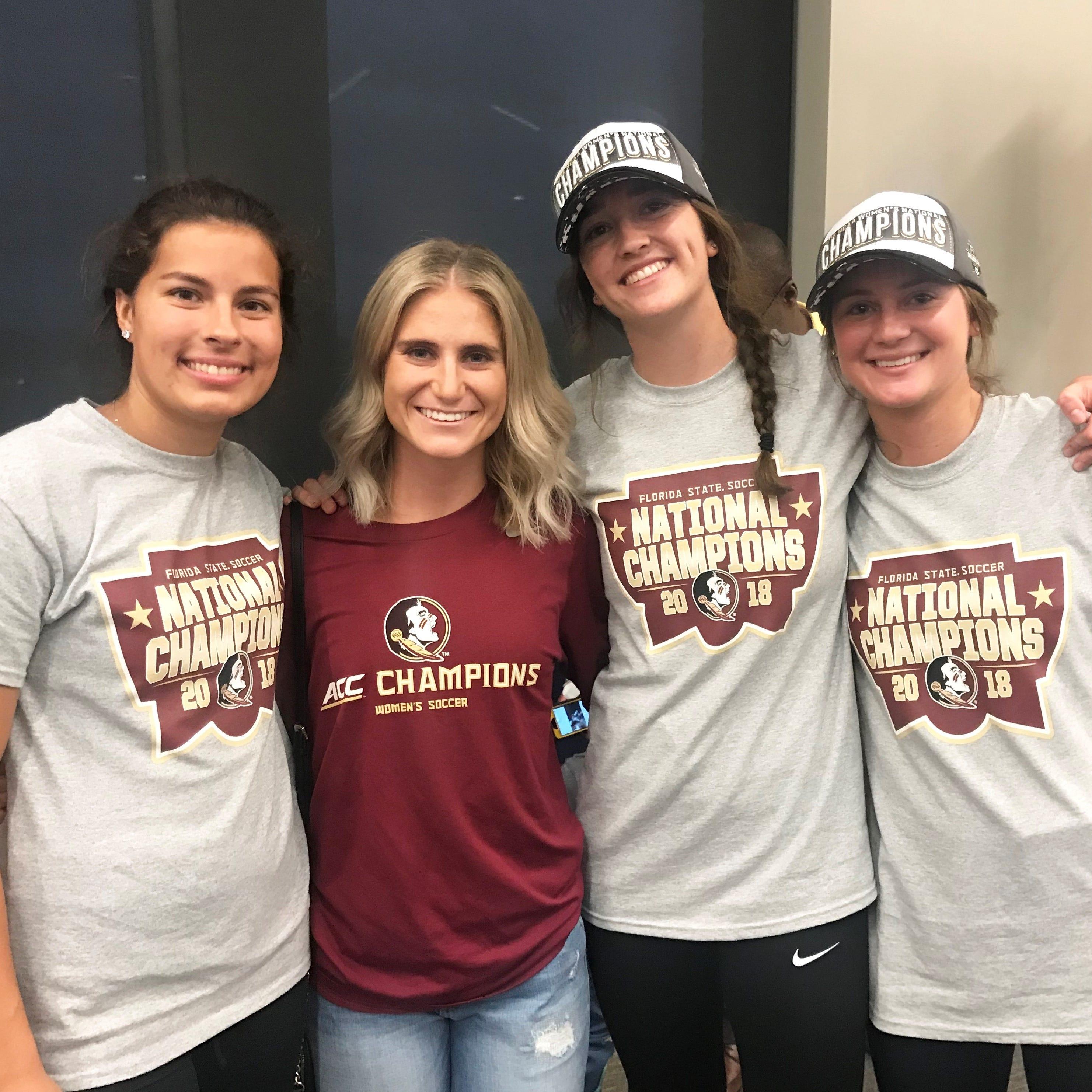 Michaela Hahn's mentoring key to FSU's soccer championship