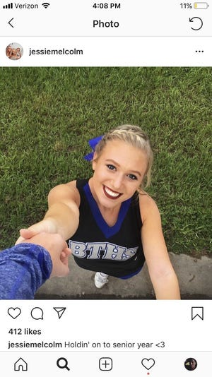 Tallahassee Community College student Jessie Melcolm died unexpectedly Tuesday, Nov. 6, 2018.