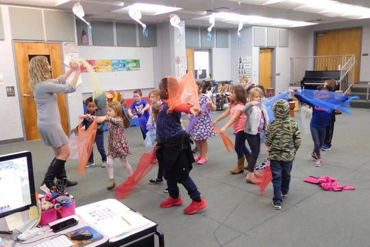 The Orff approach includes the use of instruments, poetry, literature, and movement.