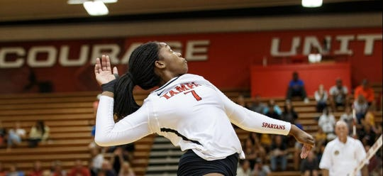 Former Florida High star Nylah Demps, a four-time first-team All-Big Bend outside hitter with the Seminoles, won a  Division II national title with the University of Tampa.