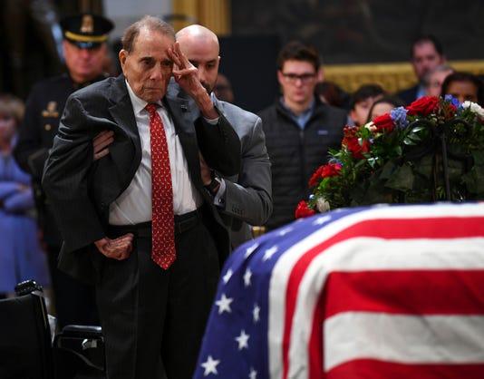 News President George H W Bush Funeral