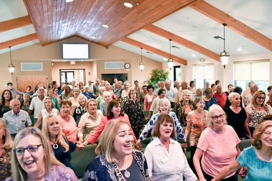 More than 125 people attended the Interfaith Alliance of the Treasure Coast's second annual Thanksgiving Service Nov. 18 at Unity of Stuart. Donations were collected to benefit House of Hope, a nonprofit agency that serves Martin County residents in need.