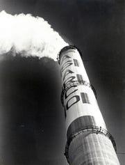 May 25, 1980 - ASARCO smoke stack.