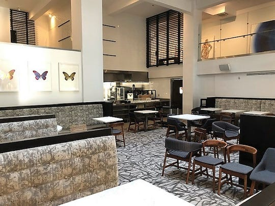 The Taft-Diaz restaurant is located near the front lobby of the recently opened Stanton House hotel. The restaurant is expected to have its soft opening this week.