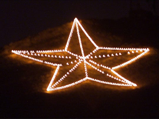 01/28/2009 Star on the Mountain.