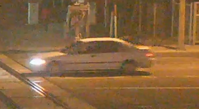 A Honda Civic made between 1992 and 1994 is believed to be involved in a felony hit-and-run on Harbor Boulevard in Ventura. Police are asking the public's help to find the car and driver.