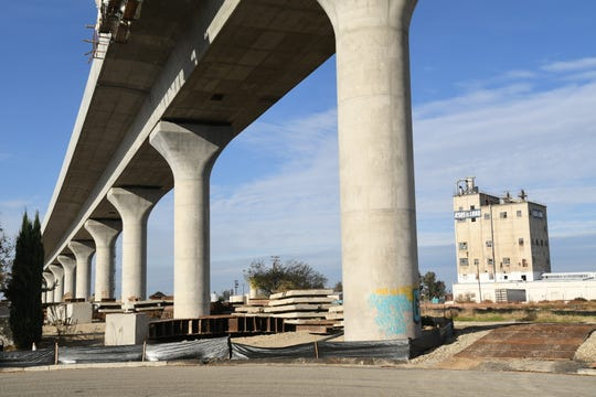 High-speed rail construction is underway in the Valley, but that's not stopping critics.