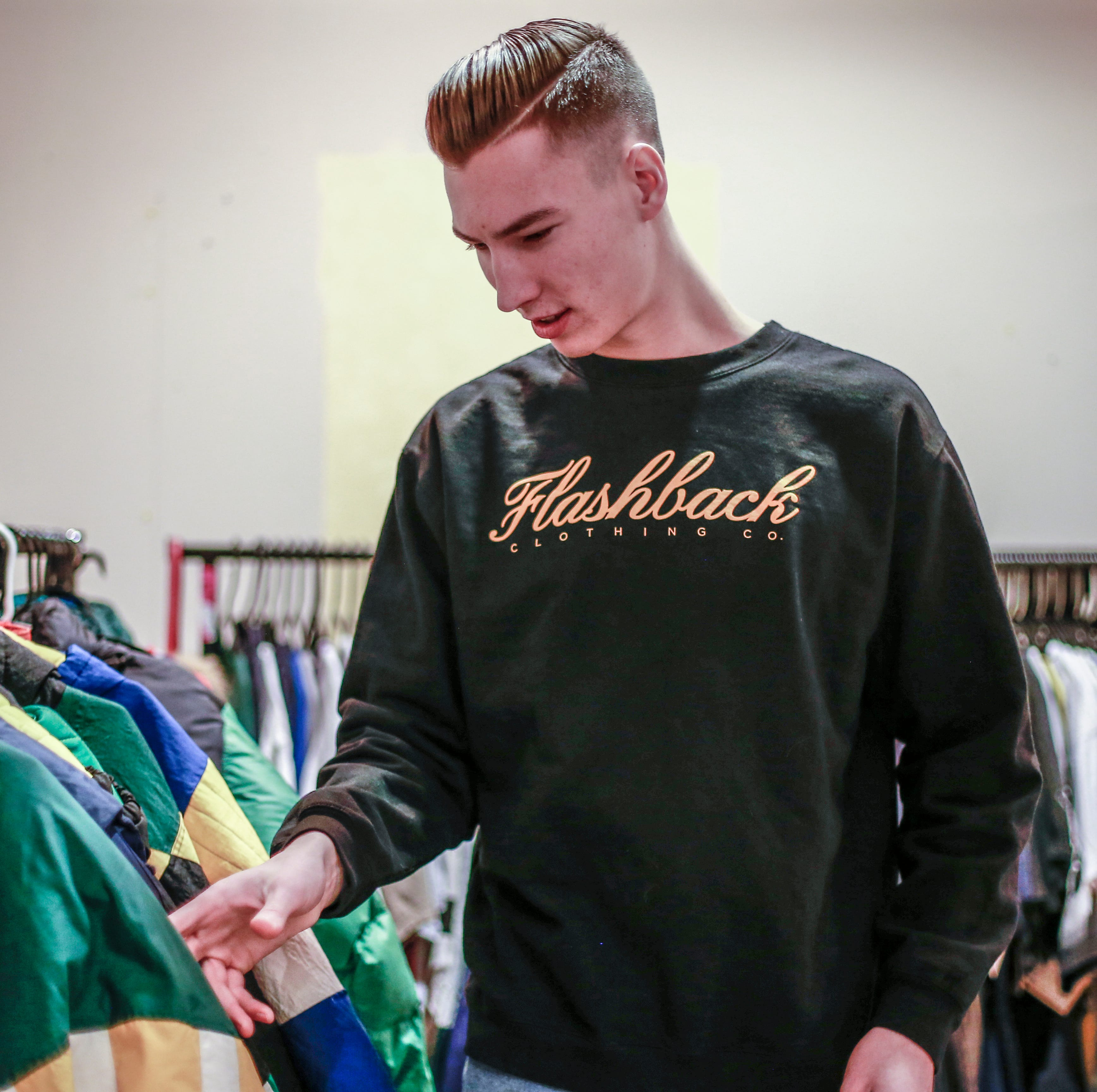 Flashback Clothing Co. is Wausau West grad's creative outlet and a refuge from bullying