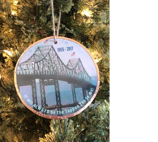 Artist Barbara Beckmann creates hand-painted ornaments featuring her hometown of Irvington and other iconic settings. They are available on ETSY.