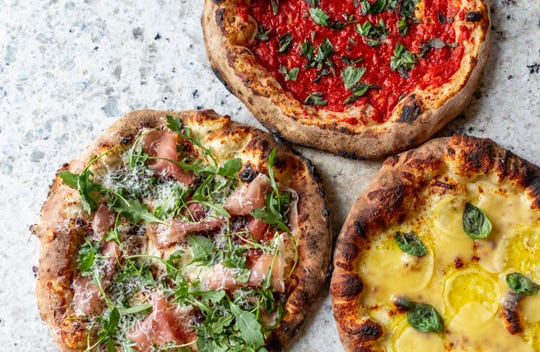 Wood-fired pizza is the focus of the new Pizza Parlor in the  new Whole Foods in Chappaqua.