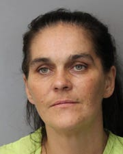 Kathy Hunsucker is wanted for two counts of second-degree burglary of a dwelling, felony theft, conspiracy, criminal mischief and one count ofpossession of burglar tools.