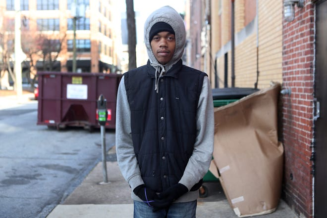"""Isiah Barnett was banned from the city's business district on Oct. 25 after he was charged with """"manner of panhandling"""" and resisting arrest, records show."""