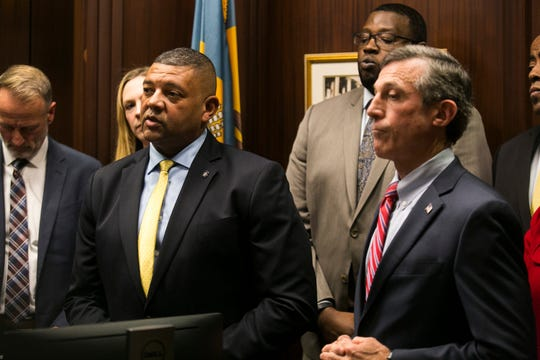 Gov. John Carney signed an order creating a commission aimed at reforming inmate re-entry Tuesday at the Carvel State Building