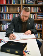 The Reverend Topher Rodgers will be ordained Thursday as the new priest of the Episcopal Church of Wichita Falls.