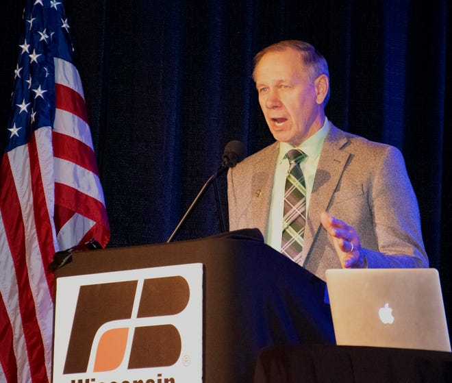 Jim Holte was elected to another term as the Wisconsin Farm Bureau Federation President.