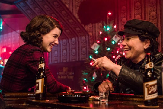 "Rachel Brosnahan and Alex Borstein in Emmy Award-winning ""The Marvelous Mrs. Maisel"" on Amazon."