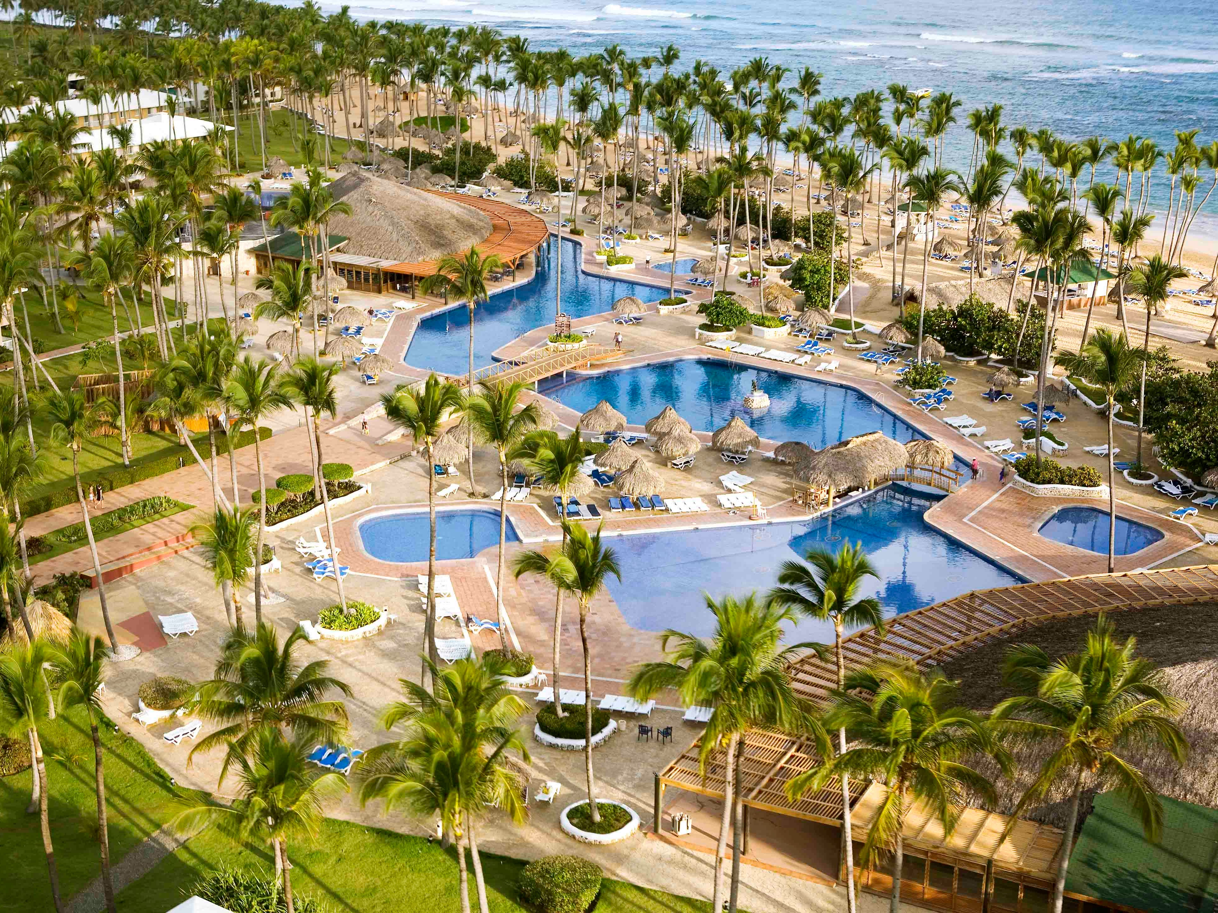 Opening on Dec. 15 after a $30 million makeover, the all-inclusive Grand Sirenis Punta Cana on Uvero Alto Beach in the Dominican Republic has 816 rooms, an enormous Aquagames Waterpark, 10 restaurants ranging from Japanese hibachi to American diner food, 11 bars, a spa and a casino.