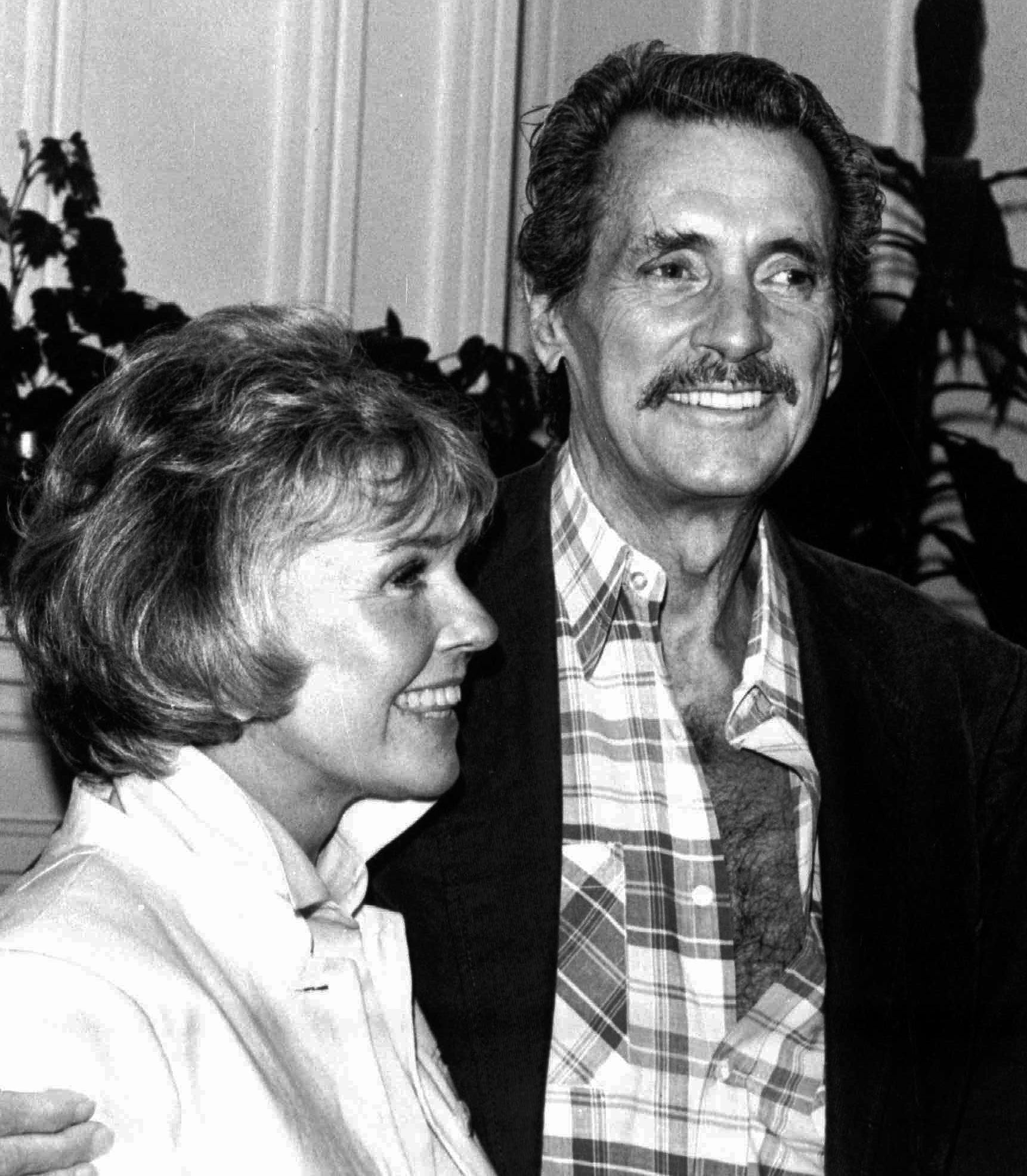 Rock Hudson joined his friend Doris Day on July 18,1985 in Monterey, Calif. His appearance shocked the world. He died later that year.