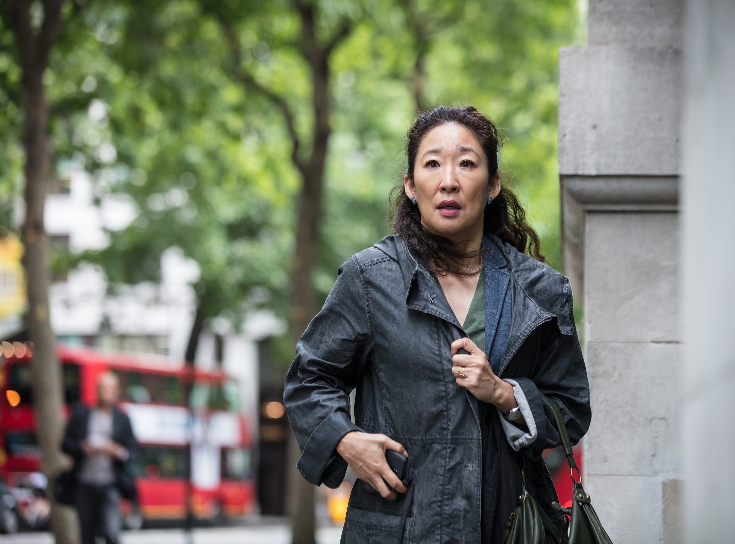 """BBC America debuted """"Killing Eve"""" with Sandra Oh."""