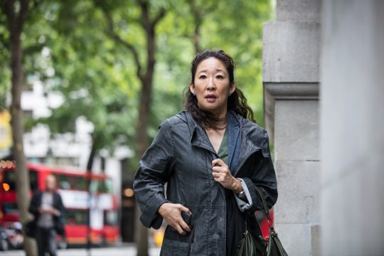 "BBC America debuted ""Killing Eve"" with Sandra Oh."