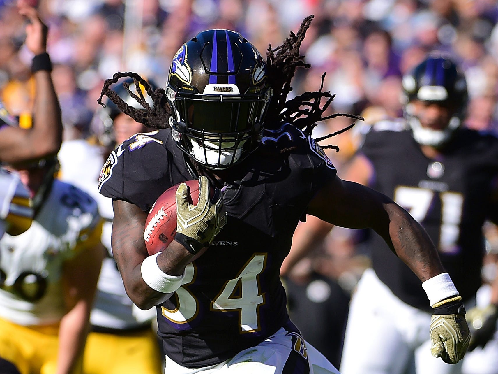 Alex Collins, RB, Baltimore Ravens (foot injury, out for season)