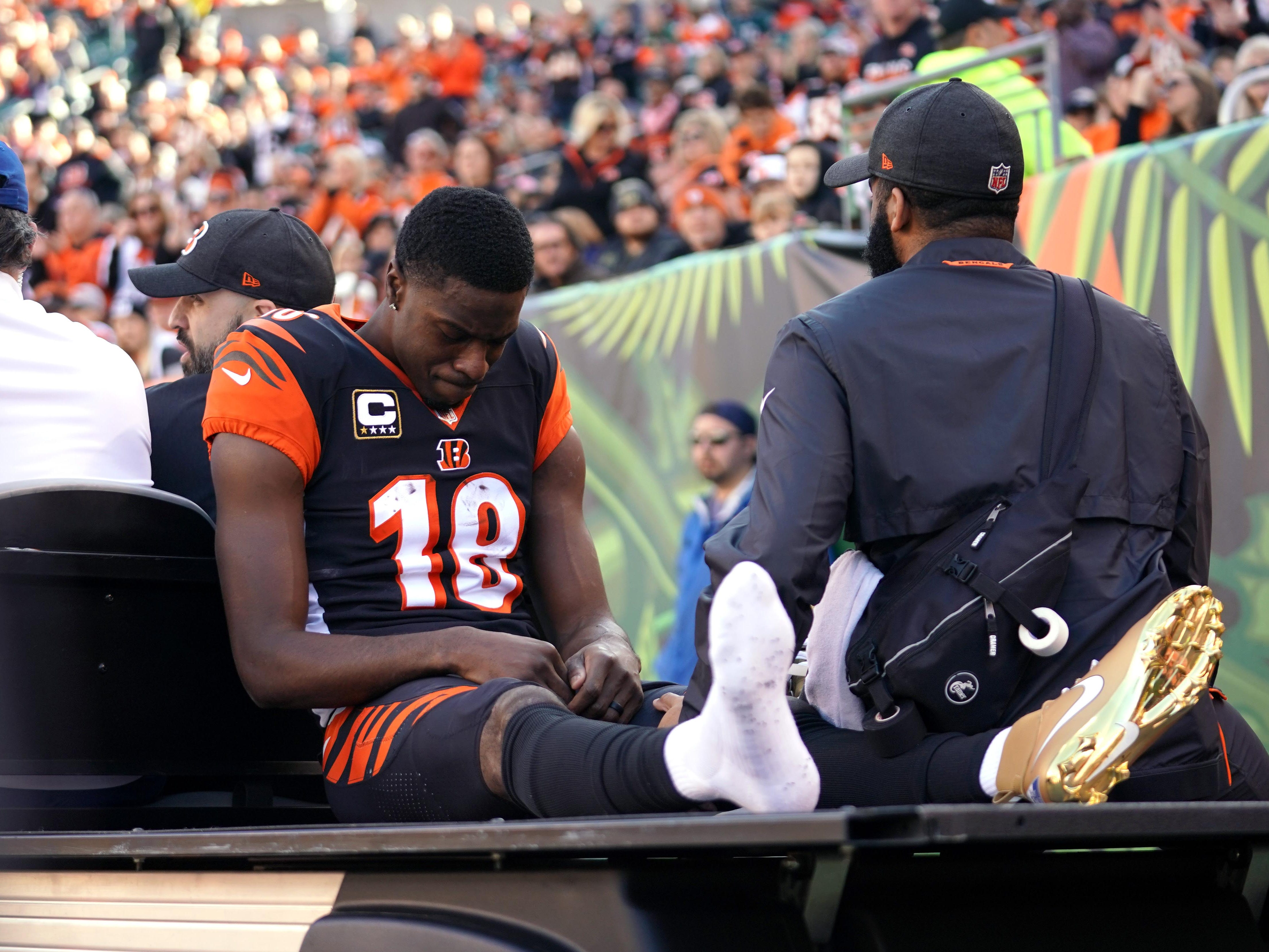 A.J. Green, WR, Cincinnati Bengals (toe injury, out for season)