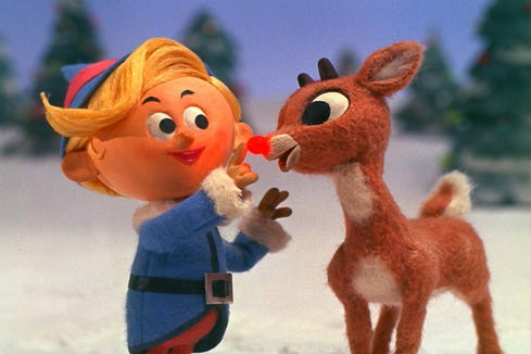 "Hermey is a misfit elf who dreams of being a dentist on ""Rudolph the Red-Nosed Reindeer."""