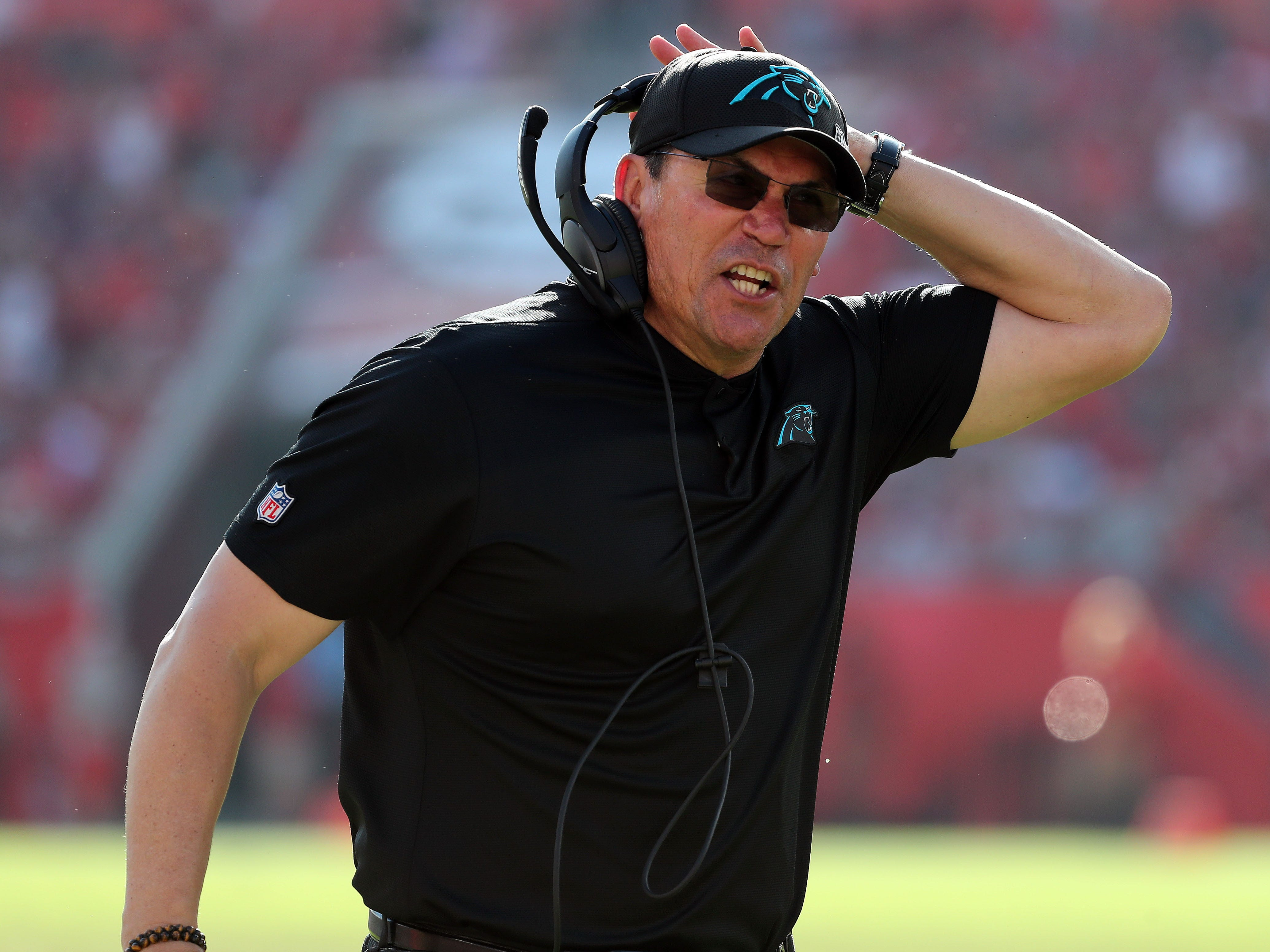16. Panthers (16): Ron Rivera kicked two defensive assistants off riverboat and will assume play-calling for unit with one takeaway during four-game skid.