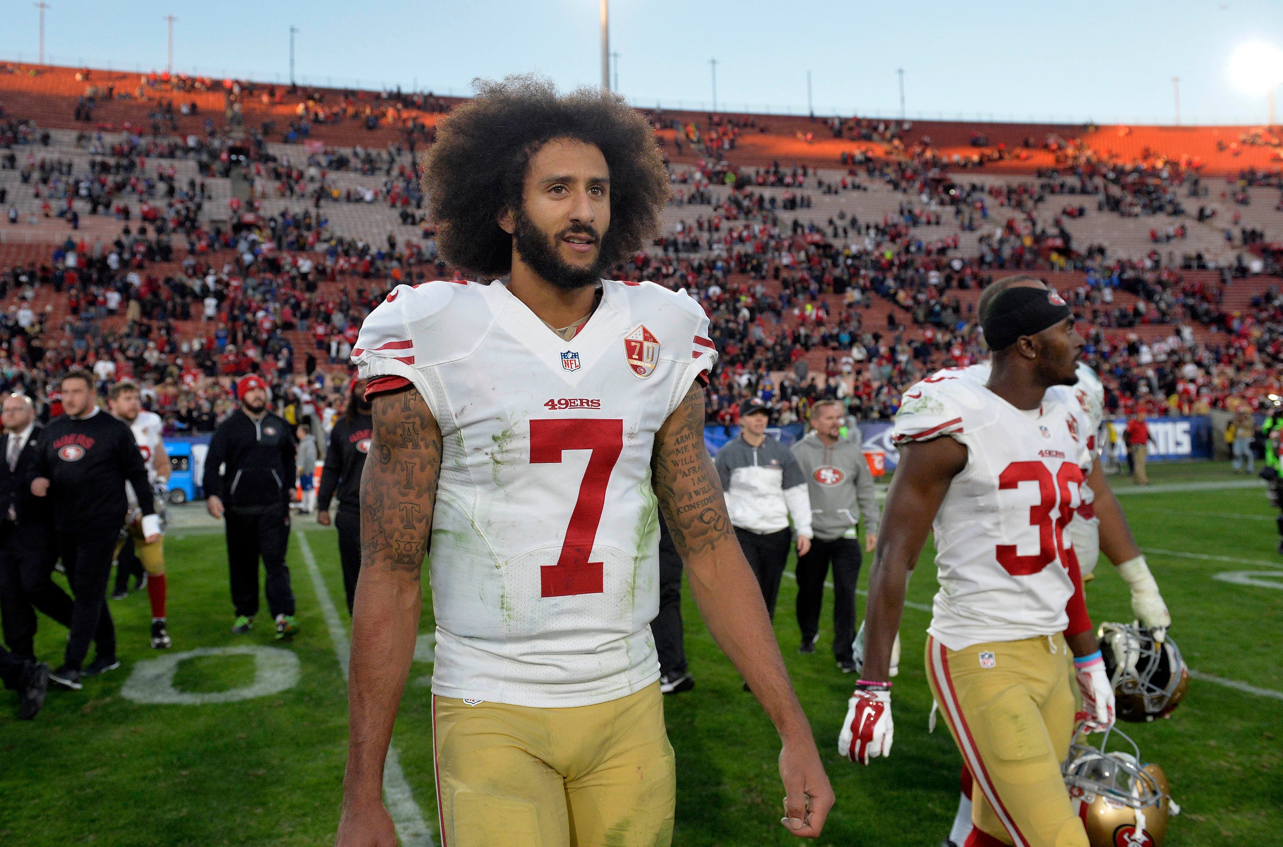 Redskins  Colin Kaepernick signing discussed but not likely 30c73a0f0