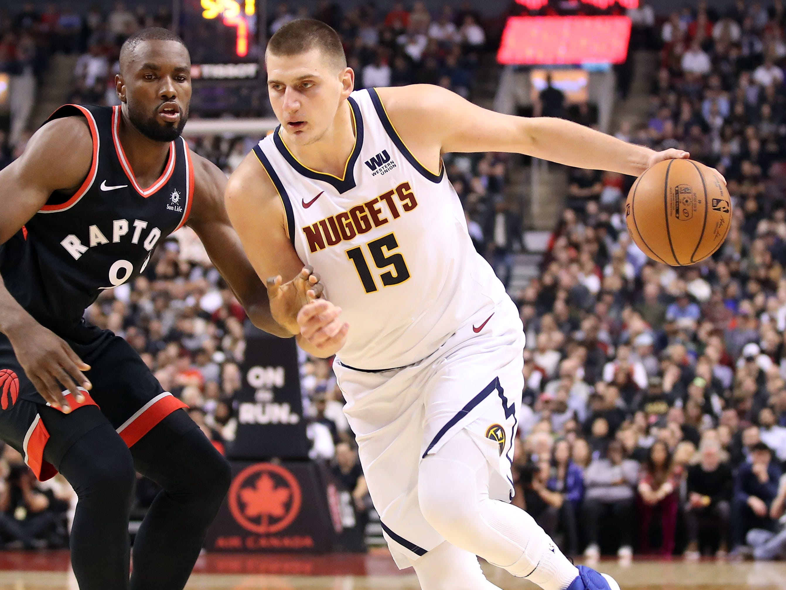 18. Nikola Jokic, Nuggets (Dec. 3): 23 points, 15 assists, 11 rebounds in 106-103 win over Raptors (second of season).