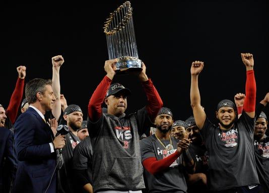 Usp Mlb World Series Boston Red Sox At Los Angele S Bbn Lad Bos Usa Ca