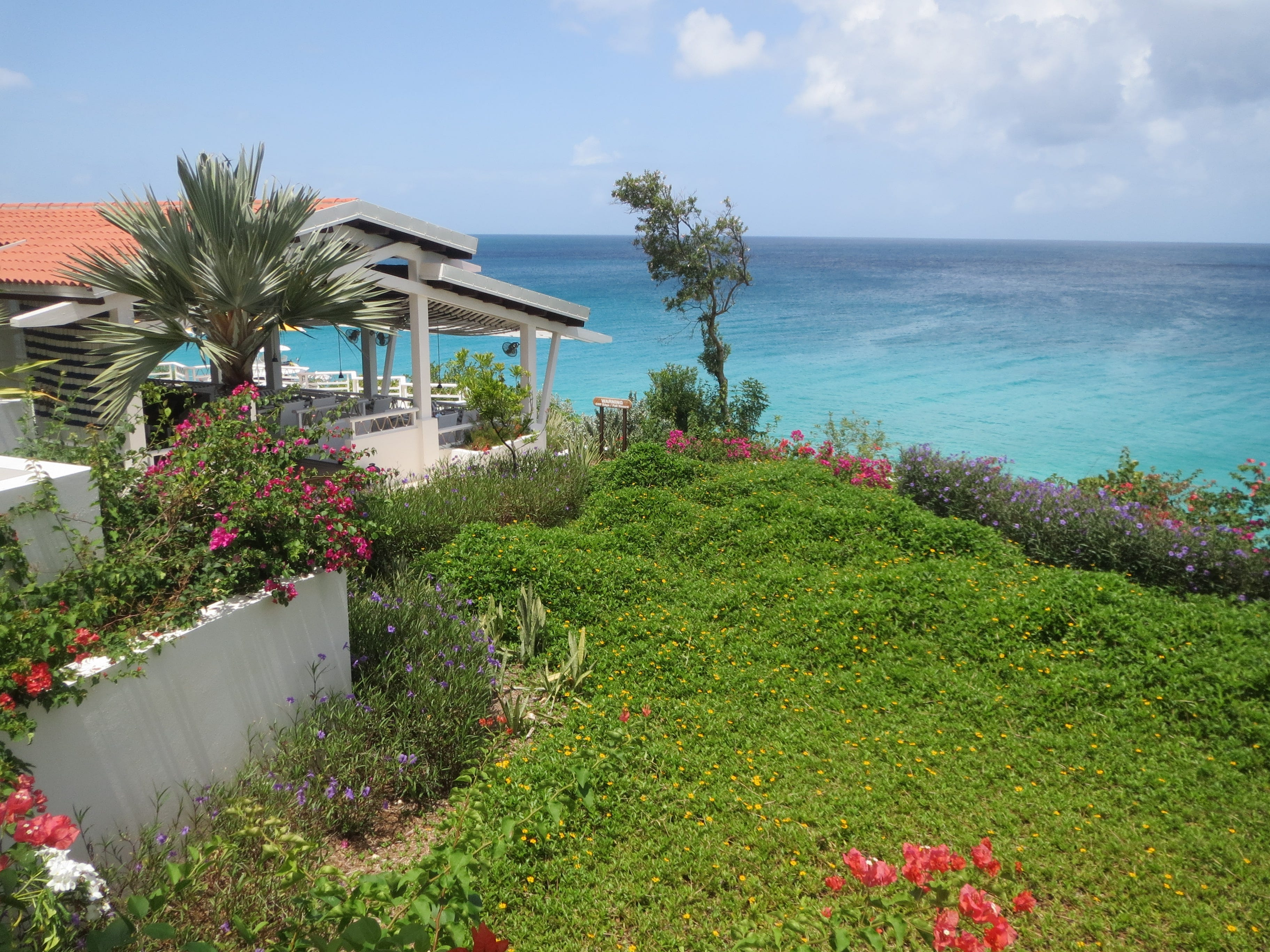 Malliouhana, an Auberge Resort overlooks Meads Bay in Anguilla.