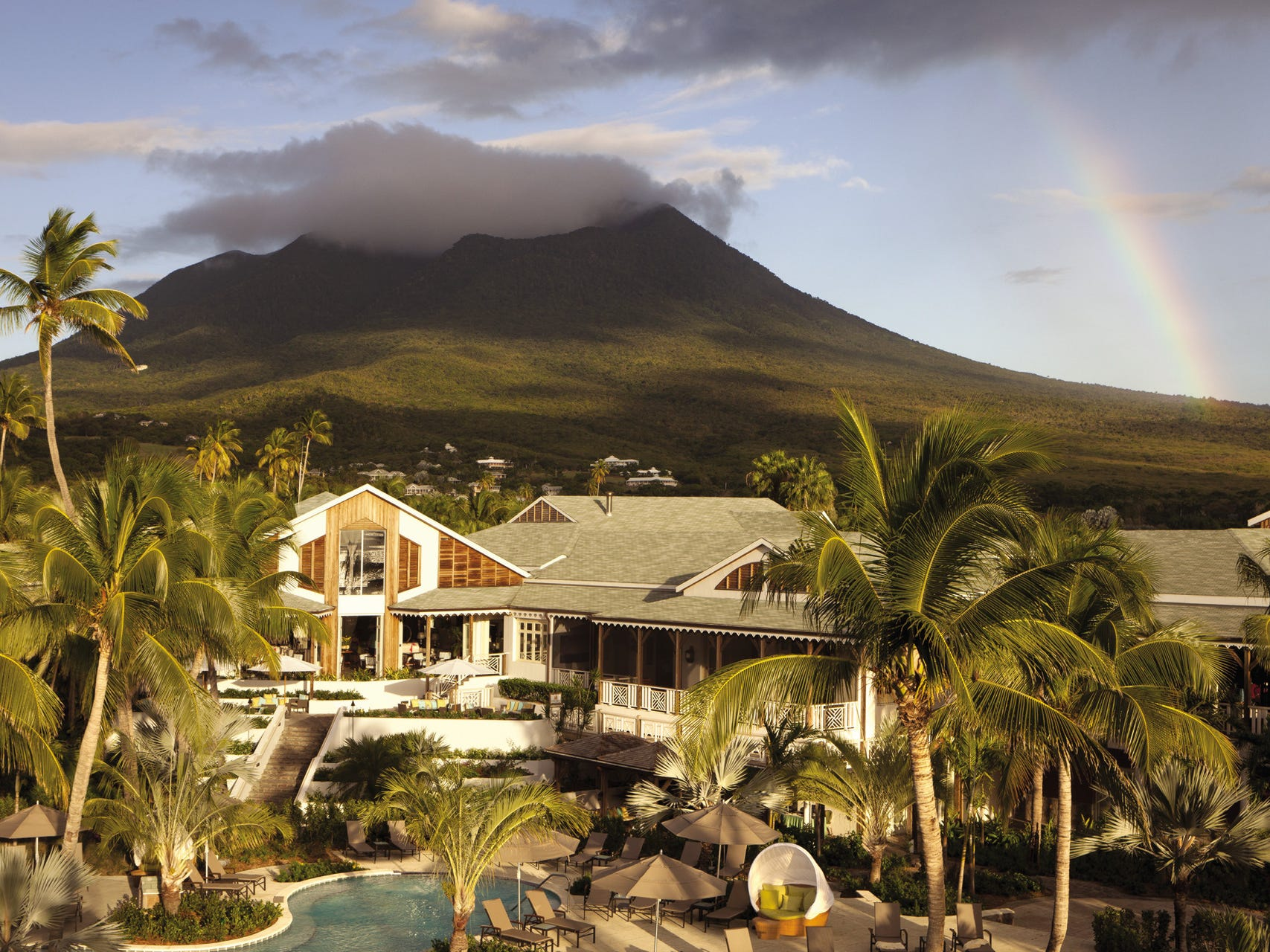 After a multimillion-dollar facelift, Four Seasons Resort Nevis unveils its new look on Dec. 10. A fresh take on an island landmark that opened more than a quarter-century ago, the resort is home to 189 updated rooms and suites and 50 villas.