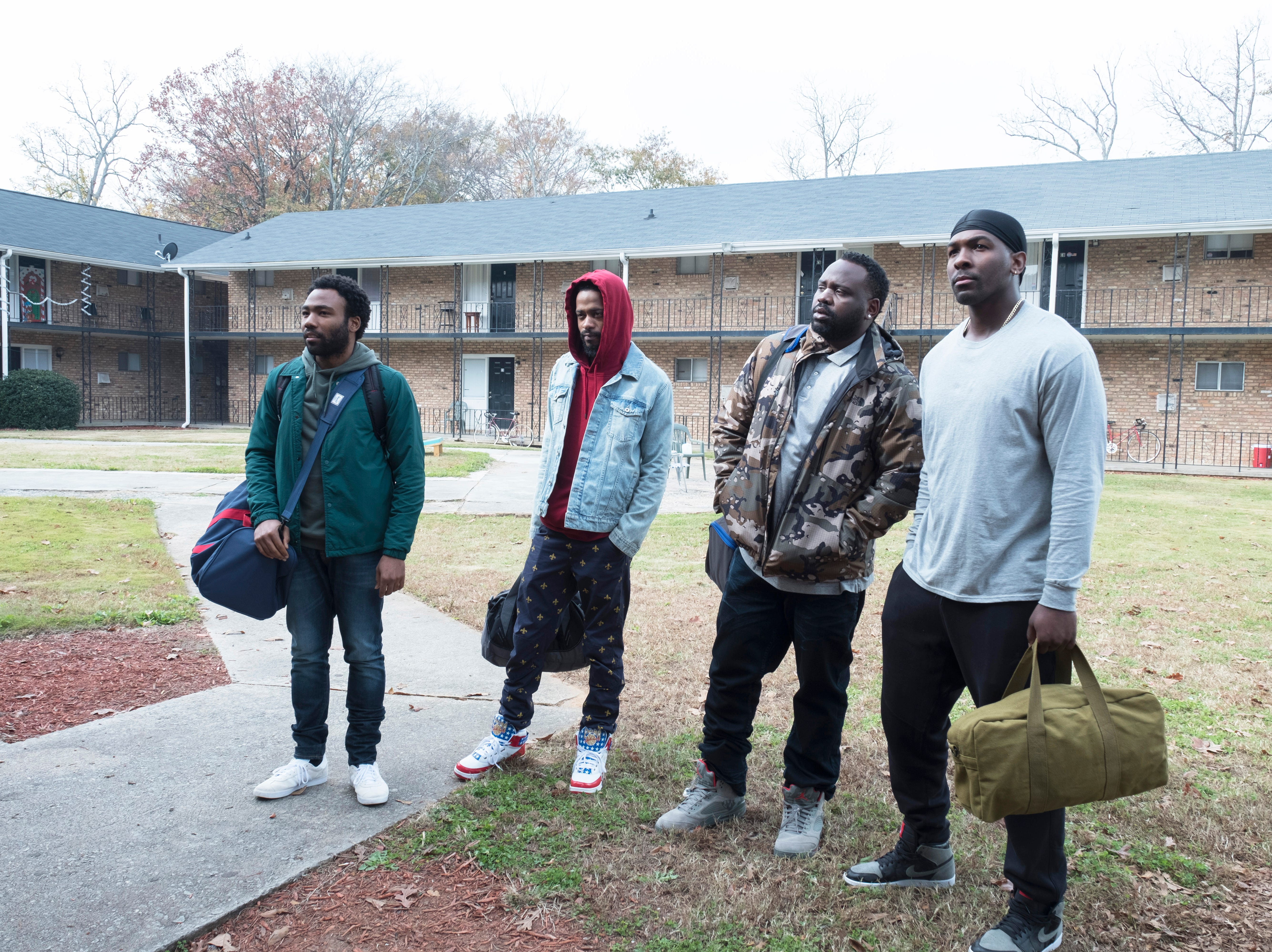 """FX's """"Atlanta"""" with Donald Glover, Lakeith Stanfield, Brian Tyree Henry and  Khris Davis."""