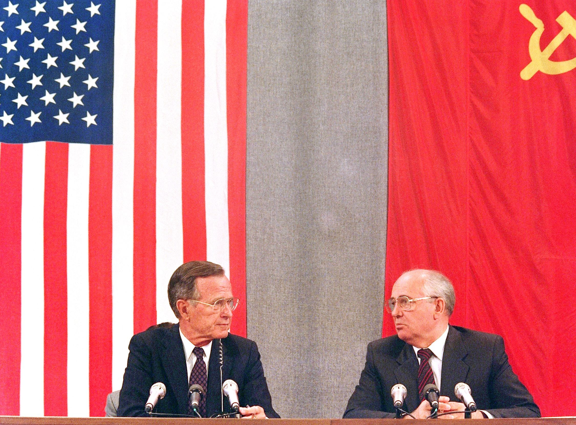 George H.W. Bush's legacy: A prudent president at ease on choppy seas of foreign policy