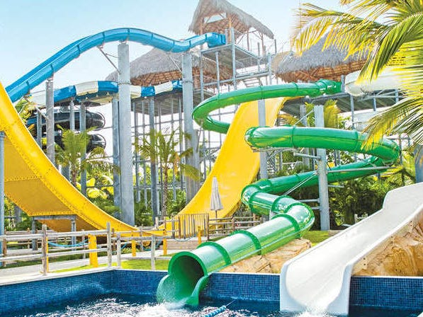 Also in Punta Cana are the new all-inclusives Grand Memories Punta Cana and Grand Memories Splash, two family-friendly resorts on Bavaro Beach with a combined 525 rooms. Grand Memories Splash sports seven monster water slides.