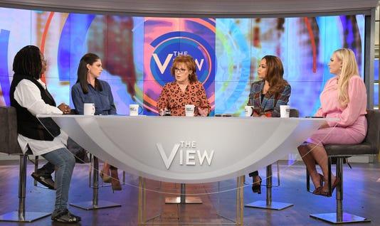 Whoopi Goldberg Abby Huntsman Joy Behar Sunny Hostin Meghan Mccain