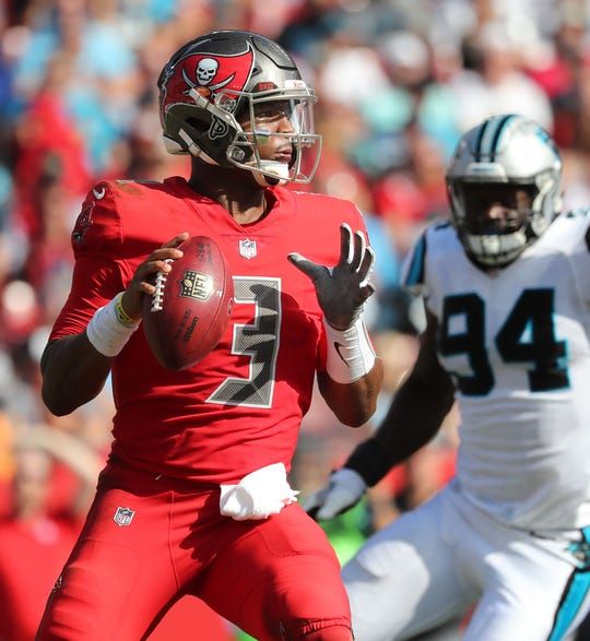 23. Buccaneers (26): Efficiency-wise, Jameis Winston having best year of his career — aided by being turnover-free in past two starts. Bucs' dilemma grows.