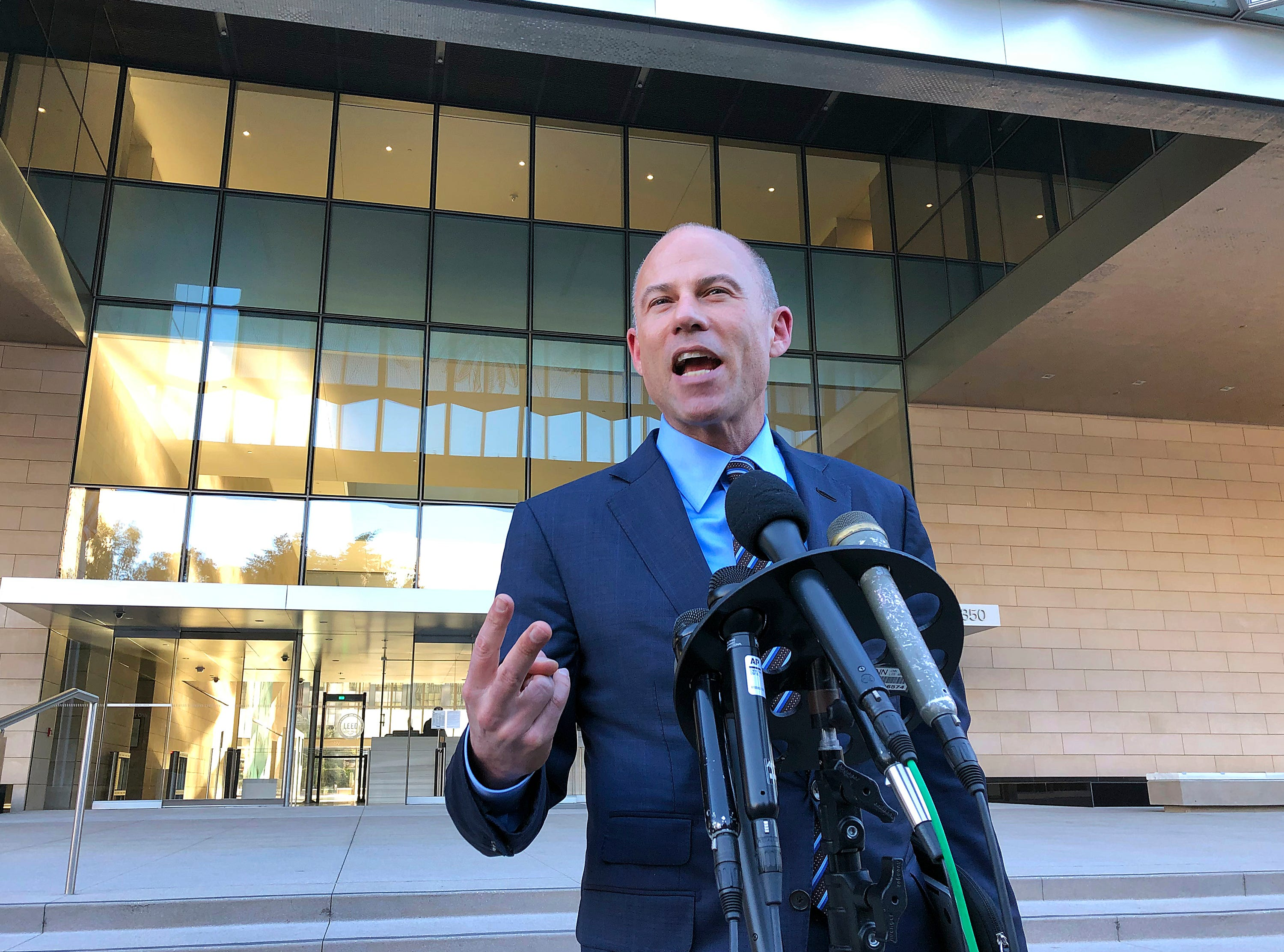 Michael Avenatti, lawyer for Stormy Daniels, says he will not run for president in 2020